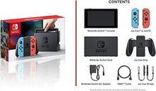 Load image into Gallery viewer, Nintendo Switch 32GB Console Video Games w/ 32GB Memory Card | Neon Red/Neon Blue Joy-Con | 1080p Resolution | 802.11ac WiFi | HDMI | Surround Sound | IR Motion Camera