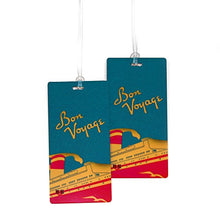 Load image into Gallery viewer, Bon Voyage Travel Set- Passport Cover + 2 Large Luggage Tags