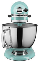 Load image into Gallery viewer, KitchenAid KSM150PSAQ Artisan Series 5-Qt. Stand Mixer with Pouring Shield - Aqua Sky