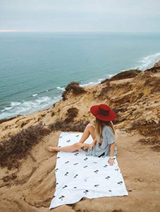 "Microfiber Beach Towel Large & Oversized - 74""X74"" or 73""X36"" 