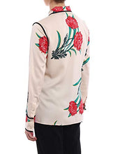 Load image into Gallery viewer, Diane von Furstenberg Women's 10401Farpb Beige Silk Shirt