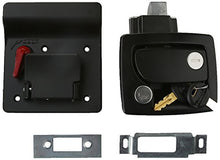 Load image into Gallery viewer, RV Designer Collection T500 Travel Trailer Lock-Black