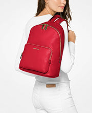 Load image into Gallery viewer, MICHAEL MICHAEL KORS Wythe Large Perforated Leather Backpack (Ultra Pink)