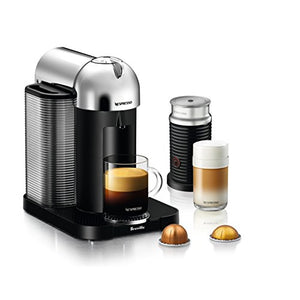 Nespresso Vertuo Coffee and Espresso Machine Bundle with Aeroccino Milk Frother