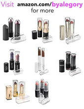 Load image into Gallery viewer, byAlegory Premium Beauty Organization Acrylic Lipstick Organizer & Beauty Container 24 Space Storage (Clear)