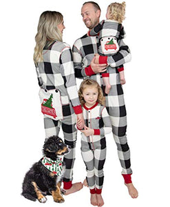 Lazy One Flapjacks, Matching Pajamas for The Dog, Baby & Kids, Teens, and Adults (Tailgate, Medium)
