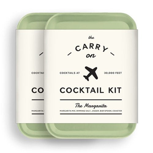 W&P MAS-CARRY-MG-2 Carry on Cocktail Kit, Margarita, Travel Kit for Drinks on the Go, Craft Cocktails, TSA Approved, Pack of 2