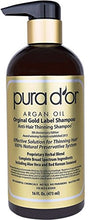 Load image into Gallery viewer, PURA D'OR Original Gold Label Anti-Thinning Shampoo Clinically Tested