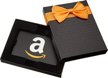 Load image into Gallery viewer, Amazon.com Gift Card in a Black Gift Box (Classic Black Card Design)