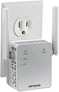 NETGEAR WiFi Range Extender AC750 Dual Band |WiFi coverage up to 750 Mbps (EX3700)