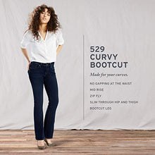 Load image into Gallery viewer, Levi's Women's 529 Curvy Bootcut Jeans