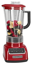 Load image into Gallery viewer, KitchenAid KSB1575ER 5-Speed Diamond Blender with 60-Ounce BPA-Free Pitcher - Empire Red