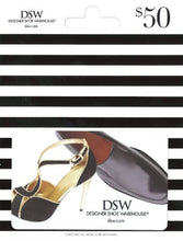 Load image into Gallery viewer, DSW Gift Card $50