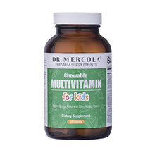 Load image into Gallery viewer, Dr. Mercola Children's Multivitamin Chewables Fruit - 60 Tablets