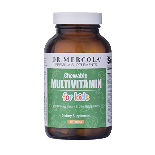 Dr. Mercola Children's Multivitamin Chewables Fruit - 60 Tablets