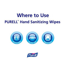 Load image into Gallery viewer, PURELL 9124-09-EC Hand and Face Sanitizing Wipes – Travel Size Hand Sanitizer Wipes