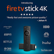 Load image into Gallery viewer, Fire TV Stick 4K with all-new Alexa Voice Remote, streaming media player