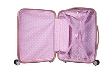 Load image into Gallery viewer, Rockland Hardside Spinner 3-Piece Luggage Set, Champagne / Rose Gold
