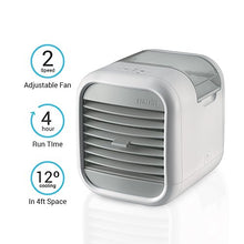 Load image into Gallery viewer, Homedics Portable Air Cooler | Clean Tank Technology, Small Cooling Unit, Quiet | Energy Saving, Environmentally Friendly, Cooling System for Dorm, Office, Bedroom, Apartment | My CHILL