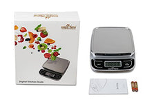 Load image into Gallery viewer, Easy@Home Digital Kitchen Food Scale with High Precision to 0.04oz and 11 lbs capacity, Digital Multifunction Measuring Scale, EKS-202