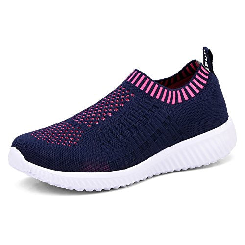 TIOSEBON Women's Athletic Walking Shoes Casual Mesh-Comfortable Work Sneakers