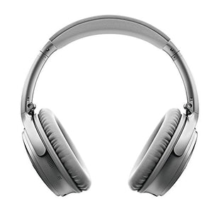 Bose QuietComfort 35 (Series II) Wireless Headphones, Noise Cancelling - Silver (789564-0020)