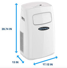 Load image into Gallery viewer, FROZTECH Portable Air Conditioner - Room Air Conditioning Cooler - 450 up to 550 Sf Aire Acondicionado - Room Air Conditioners - Dehumidifier (12,000 BTU)