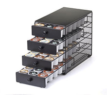 Load image into Gallery viewer, Nifty 4-Tier 72 K-Cup Capacity Storage Drawer, Black