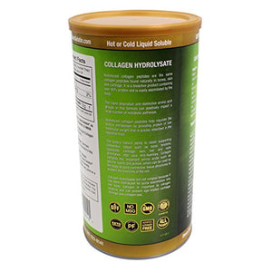 Great Lakes Gelatin - Collagen Hydrolysate Kosher - Unflavored Protein - 16 oz