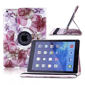 TOPCHANCES Pu Leather Case for iPad 5(A1474/A1475) with Smart Cover Wake/Sleep Function