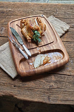 "Load image into Gallery viewer, Ironwood Gourmet 28103 Kansas City Carving Board 22"" x 15"" x 1.5"""