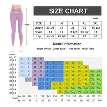Load image into Gallery viewer, Women High Waist Yoga Pants with Pocket Tummy Control Leggings Gym 4 Way Stretch