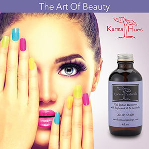 Karma Organic beauty natural Soybean Lavender Nail Polish Remover Nontoxic vegan