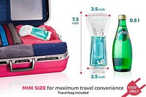 Steamer for Clothes Mini, Garments, Fabric, and Draperies - Compact, Portable, Handheld