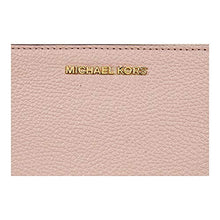Load image into Gallery viewer, MICHAEL Michael Kors Adele Leather Smartphone Wristlet (Soft Pink)