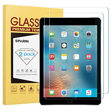 "Load image into Gallery viewer, [2 Pack] New iPad 9.7"" (2018 & 2017) / iPad Pro 9.7 / iPad Air 2 / iPad Air Screen Protector, SPARIN Tempered Glass Screen Protector - Apple Pencil Compatible/High Definition/Scratch Resistant"