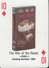 Load image into Gallery viewer, War of the Roses RARE 1988 CBS Fox Promotional Playing Card Michael Douglas