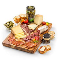 Load image into Gallery viewer, GiftTree Reserve Charcuterie and French Cheese Gift | Artisan Cheese & Gourmet Charcuterie Food Gift Basket | Great for Corporate, Clients, Holiday, Family Gathering, Foodies