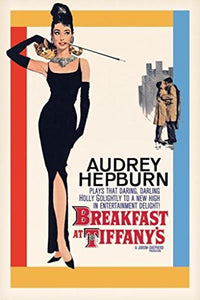 Pyramid America Breakfast at Tiffanys Audrey Hepburn Holly Golightly Romantic Comedy Movie Film Poster 24x36 inch