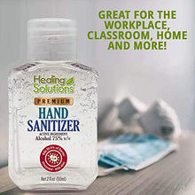 Load image into Gallery viewer, Hand Sanitizer Gel (24 Pack - Mini 2 oz Bottle) - 75% Alcohol - Kills 99.99% of Germs - Small 2oz Bulk Travel Size Individual Personal Pocket 2 Ounce Bottles