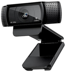 Logitech HD Pro Webcam C920, Widescreen Video Calling and Recording, 1080p Camera