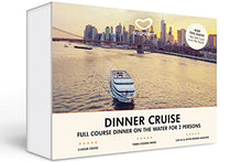 Load image into Gallery viewer, Romantic Dinner Cruise for Two in New York Experience Gift Card NYC - GO DREAM - Sent in a Gift Package