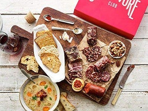 Carnivore Club Gift Box (Gourmet Food Gift) - Food Basket - 4 to 6 Cured Meats - Comes in a Premium Gift Box - Great Gift For Men & Women - Great with Crackers & Cheese & Wine