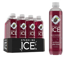 Load image into Gallery viewer, Sparkling Ice Black Raspberry Sparkling Water, with Antioxidants and Vitamins, Zero Sugar