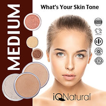 Load image into Gallery viewer, IQ Natural; Pure Minerals Makeup Bare Starter Set with Brush