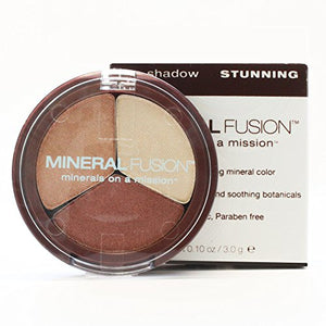 Mineral Fusion Eye Shadow Trio , Stunning , .1 Ounce