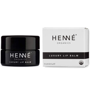 Henné Organics Lip Balm Moisturizer - Organic Lip Treatment 0.35oz
