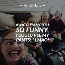 Load image into Gallery viewer, Watch Ya' Mouth Family Edition - The Authentic, Hilarious, Mouthguard Party Game