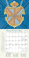 Load image into Gallery viewer, Hebrew Illuminations 2021 Wall Calendar: A 16-Month Jewish Calendar by Adam Rhine (English and Hebrew Edition)