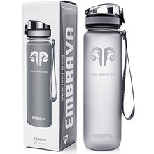 Load image into Gallery viewer, Embrava Best Sports Water Bottle - 32oz Large - Fast Flow, Flip Top Leak Proof Lid w/One Click Open - Non-Toxic BPA Free & Eco-Friendly Tritan Co-Polyester Plastic